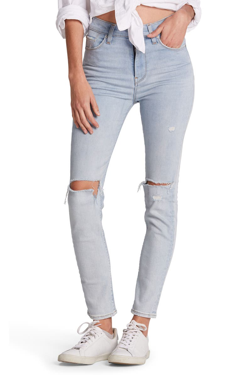 HUDSON JEANS Holly High Waist Ankle Skinny Jeans, Main, color, 450