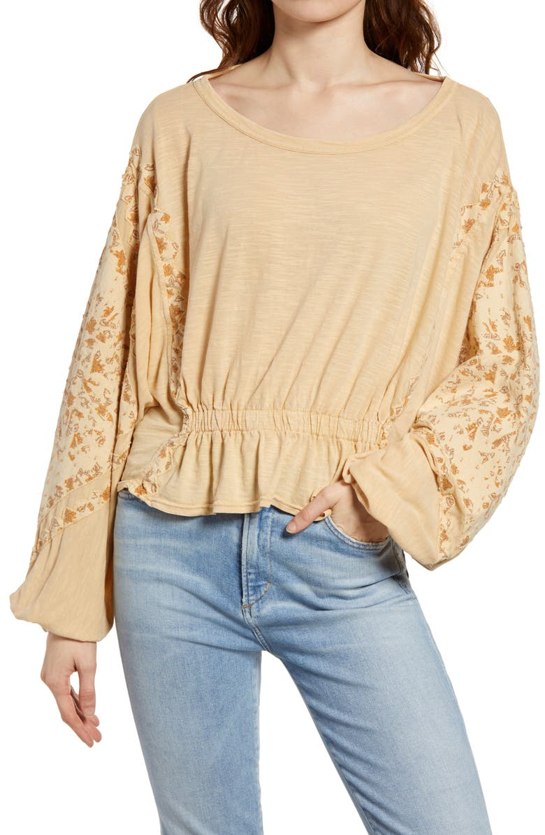 FREE PEOPLE Throwback Top, Main, color, 250