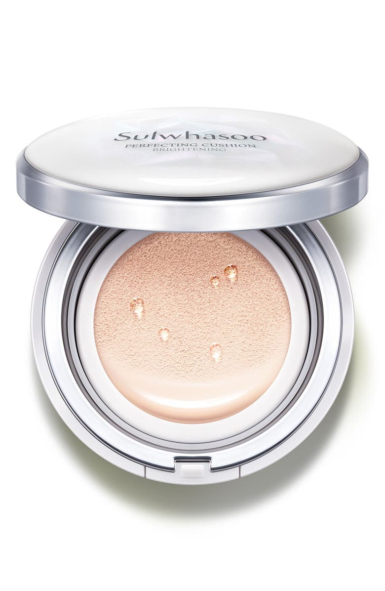 SULWHASOO Perfecting Cushion Brightening Foundation, Main, color, 13 LIGHT PINK