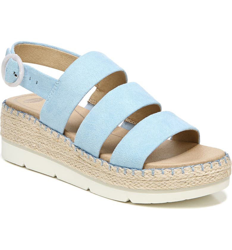 DR. SCHOLL'S One & Only Wedge Sandal, Main, color, DREAM BLUE