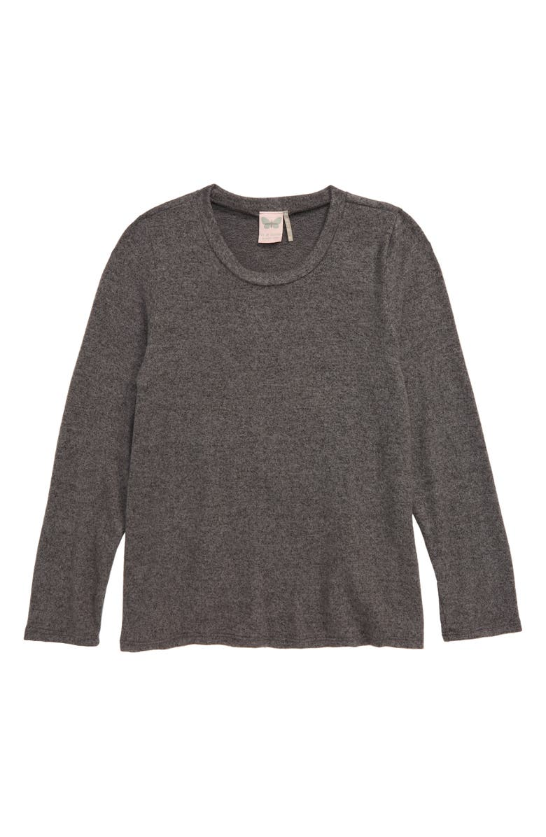 FOR ALL SEASONS Long Sleeve Top, Main, color, 001