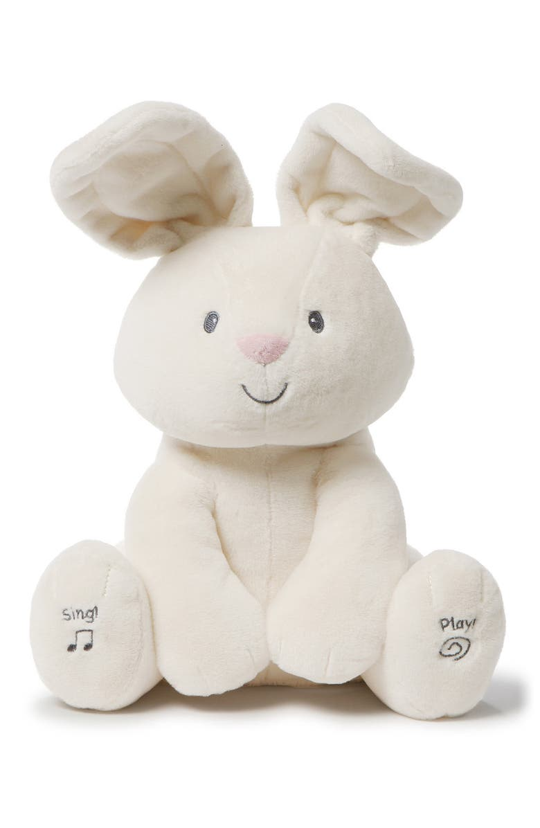 GUND Flora Musical Stuffed Animal, Main, color, CREAM