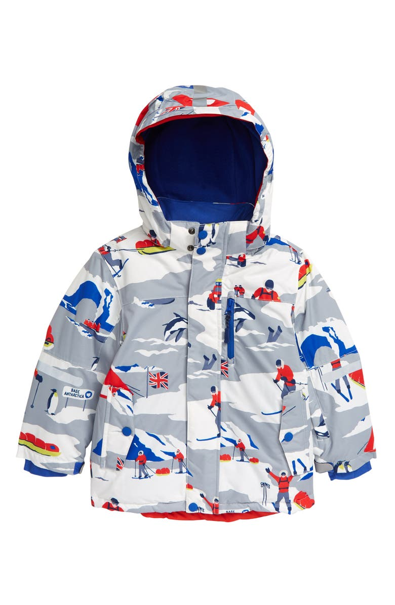 BODEN Kids' Waterproof Hooded Jacket, Main, color, 020