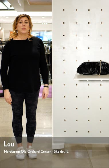 Frame Ruched Clutch, sales video thumbnail