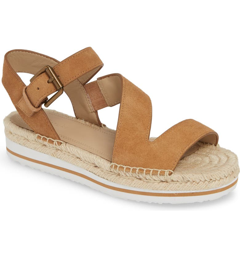 NORDSTROM SIGNATURE Areanna Strappy Espadrille Sandal, Main, color, 235