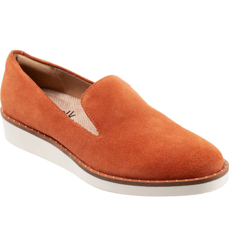 SOFTWALK<SUP>®</SUP> Westport Loafer, Main, color, CORAL FAUX LEATHER