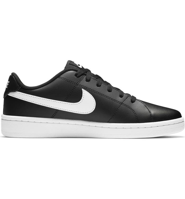 NIKE Court Royale 2 Low Sneaker, Main, color, 001 BLACK/WHITE