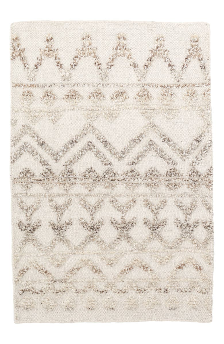 DASH & ALBERT Hand Knotted Wool Blend Rug, Main, color, 250