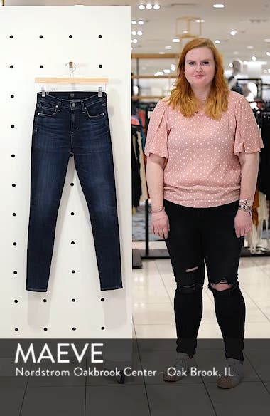 Rocket High Waist Skinny Jeans, sales video thumbnail