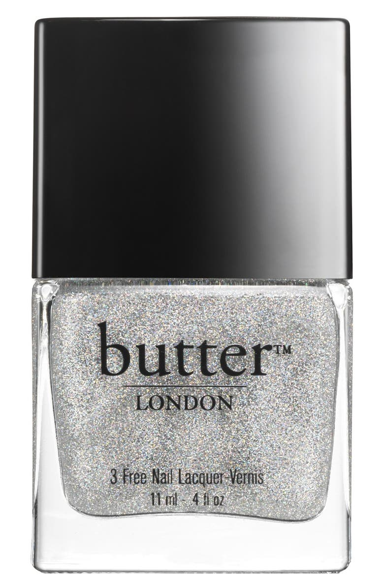 BUTTER LONDON Nail Lacquer Collection, Main, color, STARDUST OVERCOAT (S)