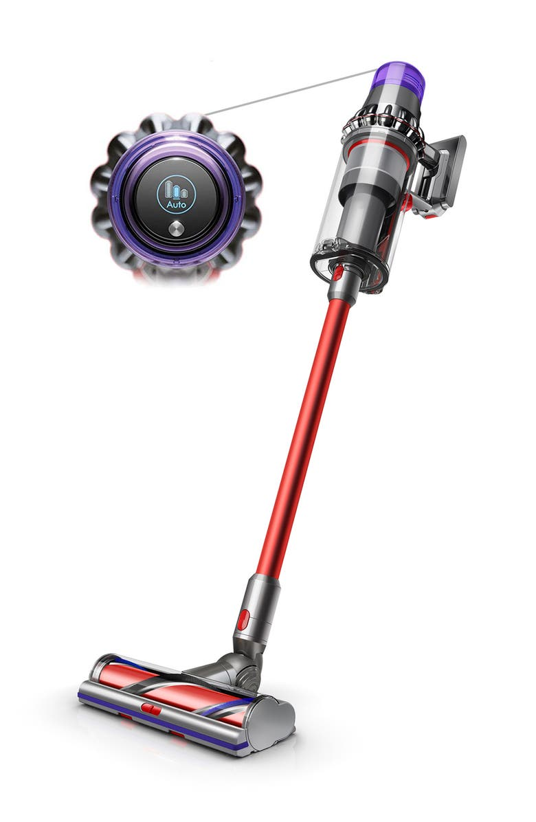 DYSON V11 Outsize Cordless Vacuum, Main, color, IRON/RED