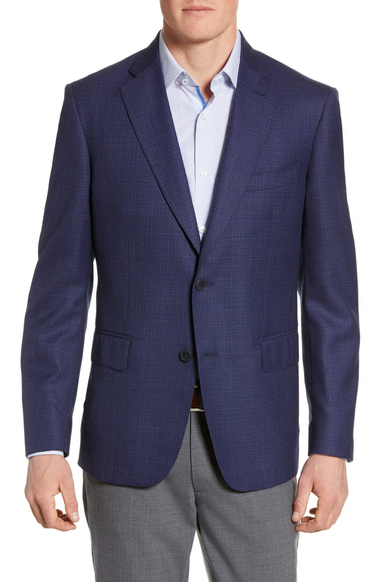 JOHN W. NORDSTROM<SUP>®</SUP> Classic Fit Wool Blazer, Main, color, 410
