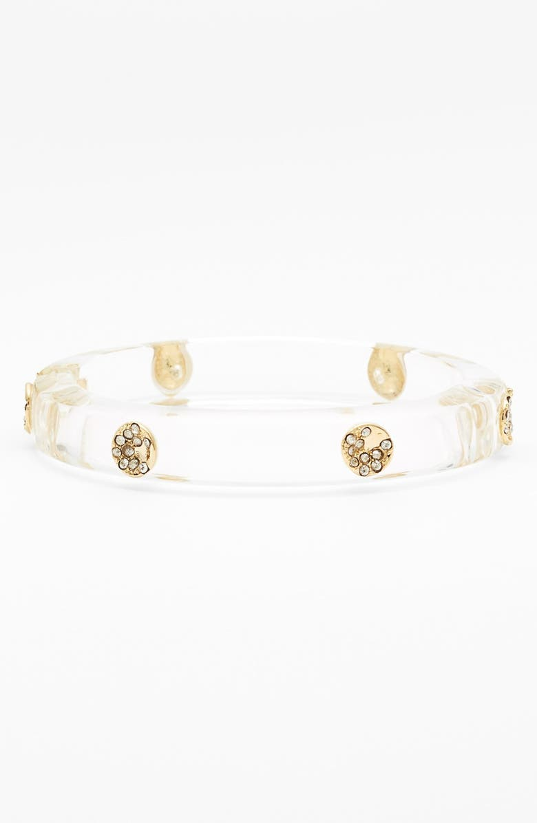 ALEXIS BITTAR 'Lucite<sup>®</sup>' Hinged Bangle Bracelet, Main, color, 000