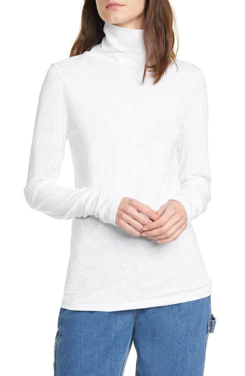 RAG & BONE The Turtleneck, Main, color, BRIGHT WHITE