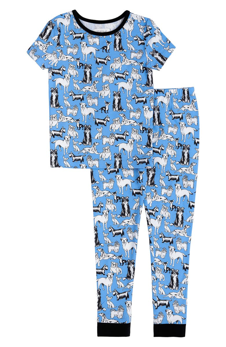 BEDHEAD PAJAMAS Pets Fitted Two-Piece Pajamas, Main, color, PART OF THE FAMILY