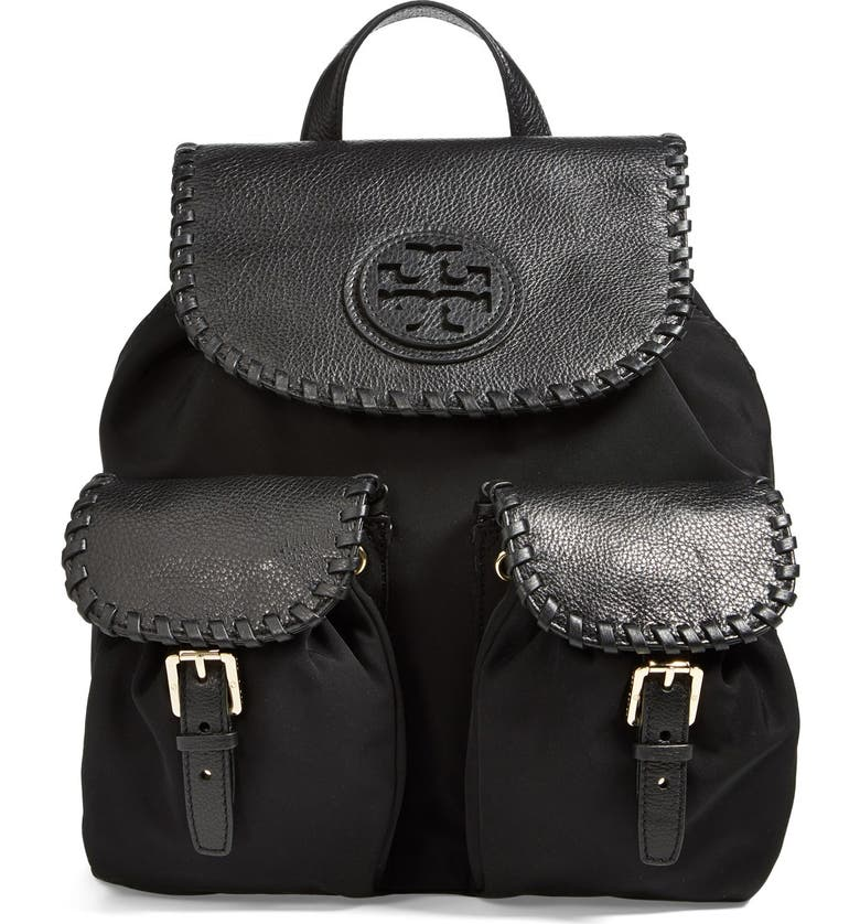 TORY BURCH 'Marion' Backpack, Main, color, 001