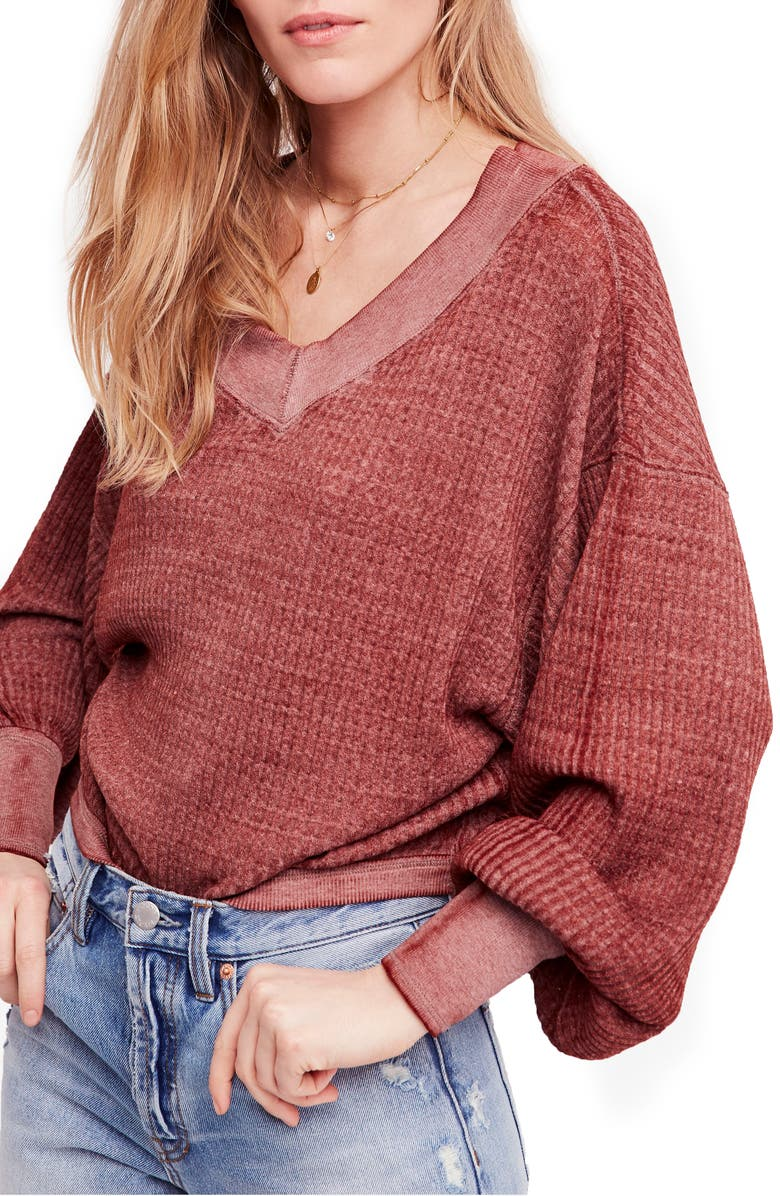 FREE PEOPLE We the Free by Free People South Side Thermal Top, Main, color, 611