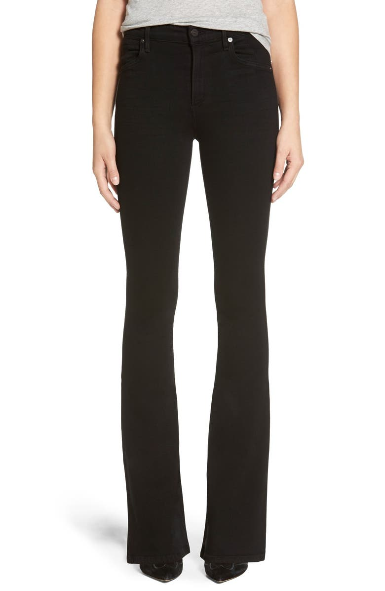 CITIZENS OF HUMANITY 'Fleetwood' High Rise Flare Jeans, Main, color, 002