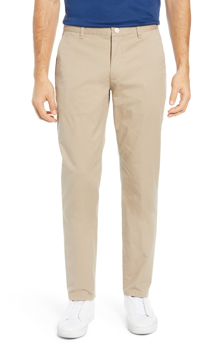 BONOBOS Athletic Stretch Washed Chinos, Main, color, BAJA DUNES