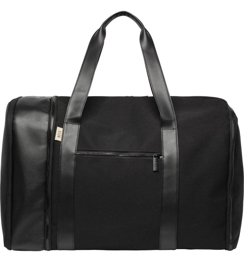BÉIS Travel Multifunction Duffle Bag, Main, color, 001