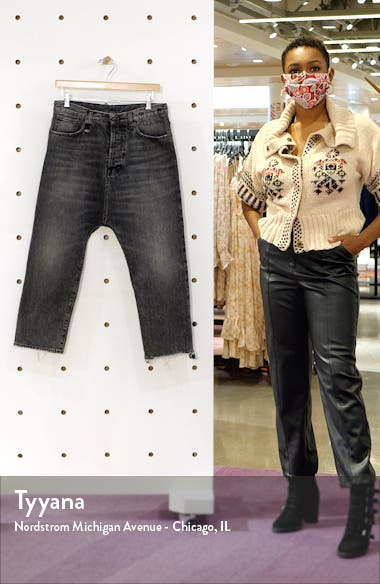 Tailored Drop Crotch Jeans, sales video thumbnail