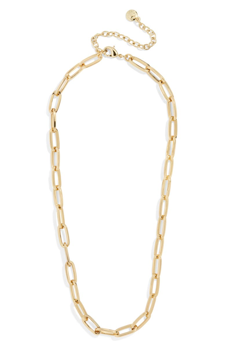 BAUBLEBAR Hera Chain Link Necklace, Main, color, 710