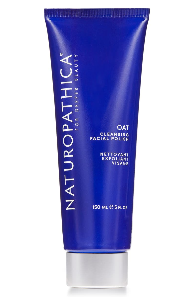 NATUROPATHICA<SUP>®</SUP> Oat Cleansing Facial Polish Exfoliating Cleanser, Main, color, NO COLOR