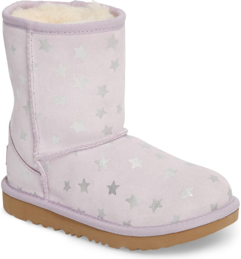 UGG<SUP>®</SUP> Classic Short II Water Resistant Stars Boot, Main, color, 530