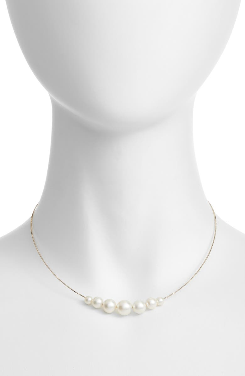 POPPY FINCH Pearl Choker Necklace, Main, color, 710