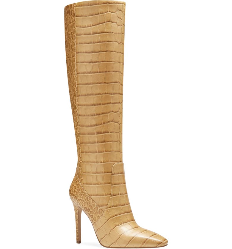 VINCE CAMUTO Fendels Knee High Boot, Main, color, CASHEW LEATHER