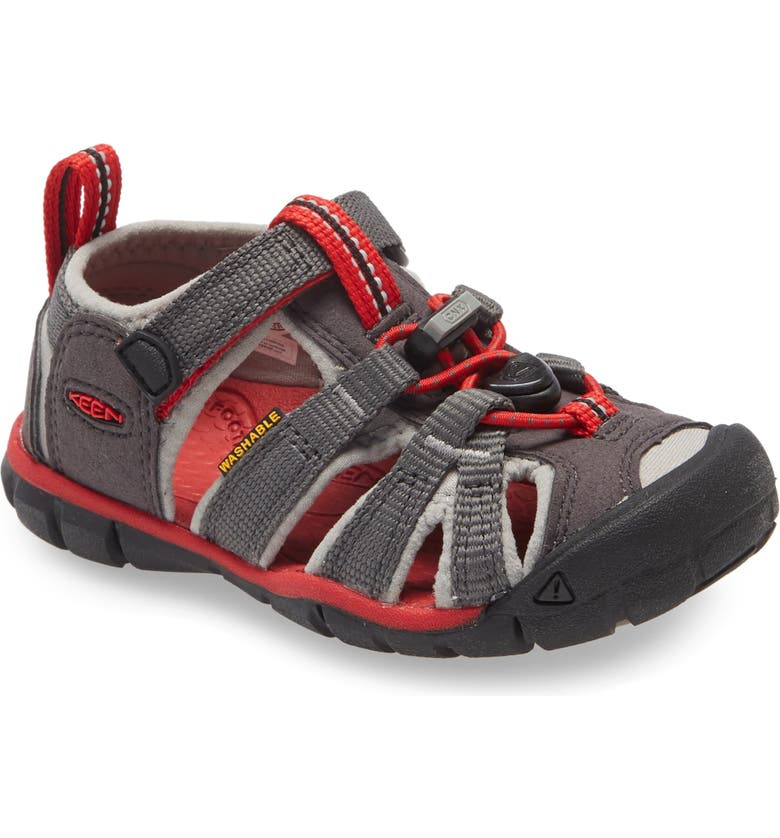 KEEN Seacamp II CNX Water Friendly Sandal, Main, color, MAGNET/ DRIZZLE