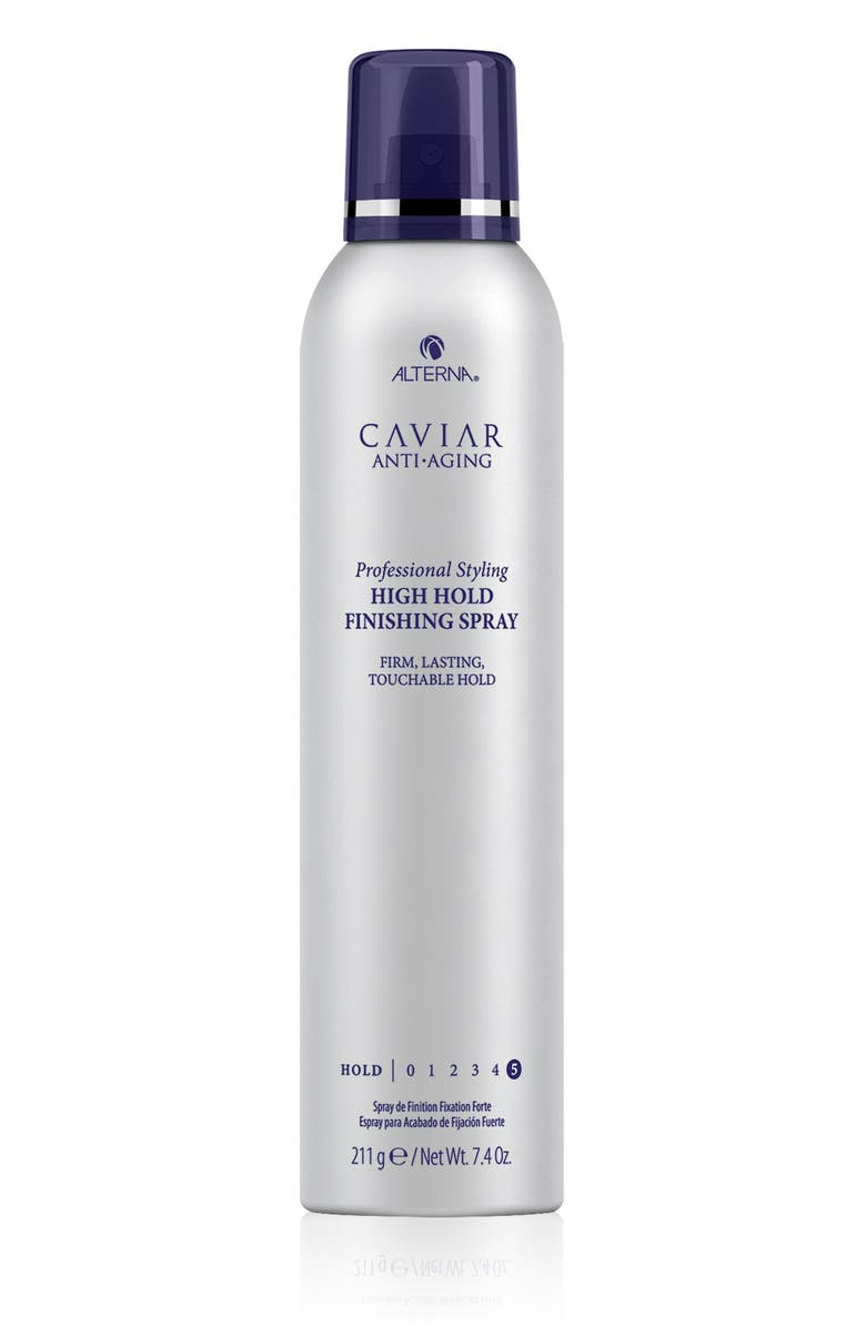 ALTERNA<SUP>®</SUP> Caviar Professional Styling High Hold Finishing Spray, Main, color, No Color