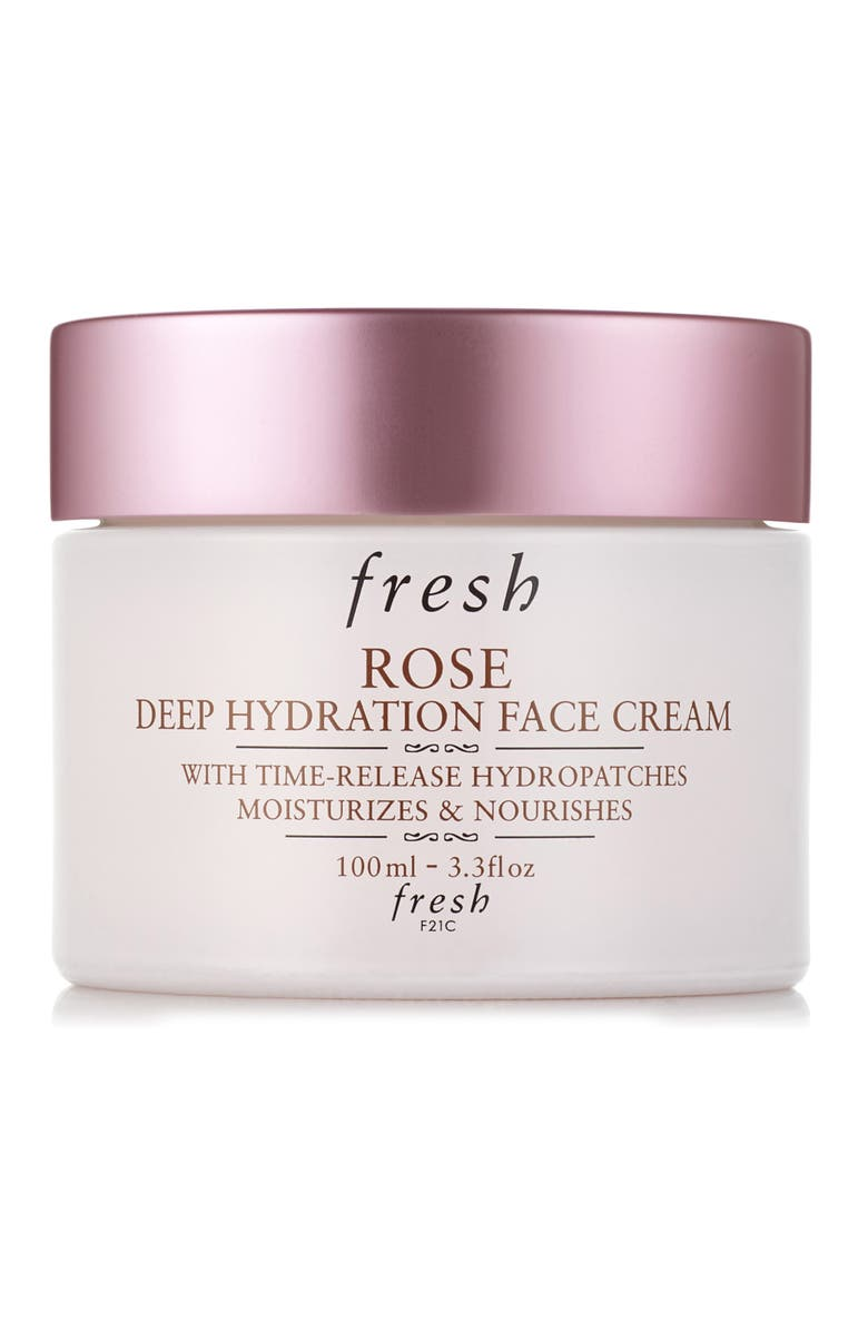 FRESH<SUP>®</SUP> Rose Deep Hydration Face Cream, Main, color, NO COLOR