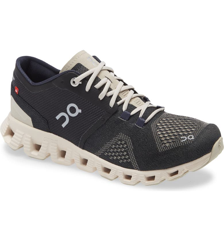 ON Cloud X Training Shoe, Main, color, BLACK/ PEARL