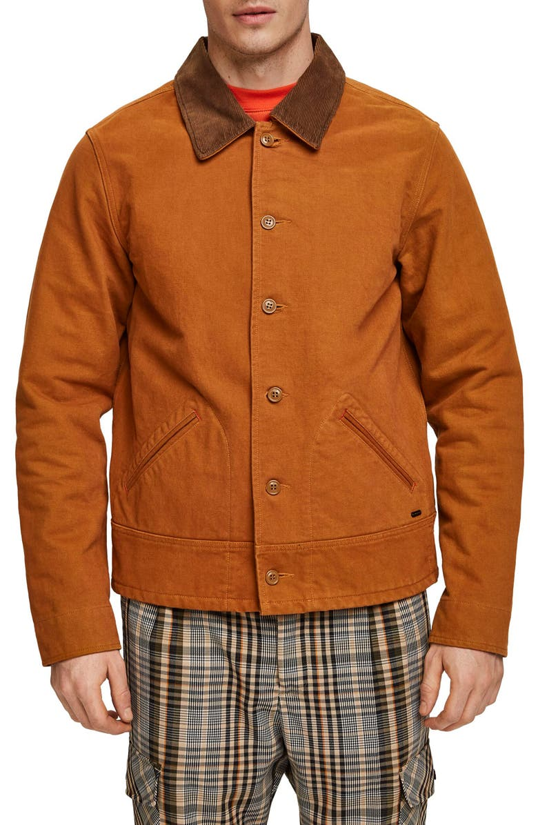 SCOTCH & SODA Moleskin Jacket, Main, color, 210