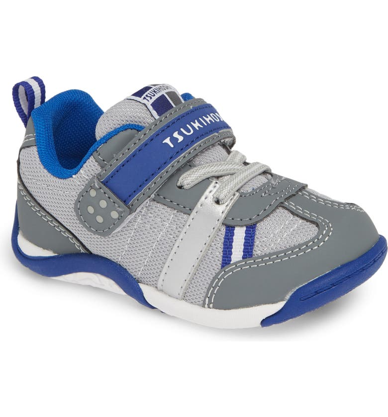 TSUKIHOSHI Kaz Washable Sneaker, Main, color, GRAY/ ROYAL