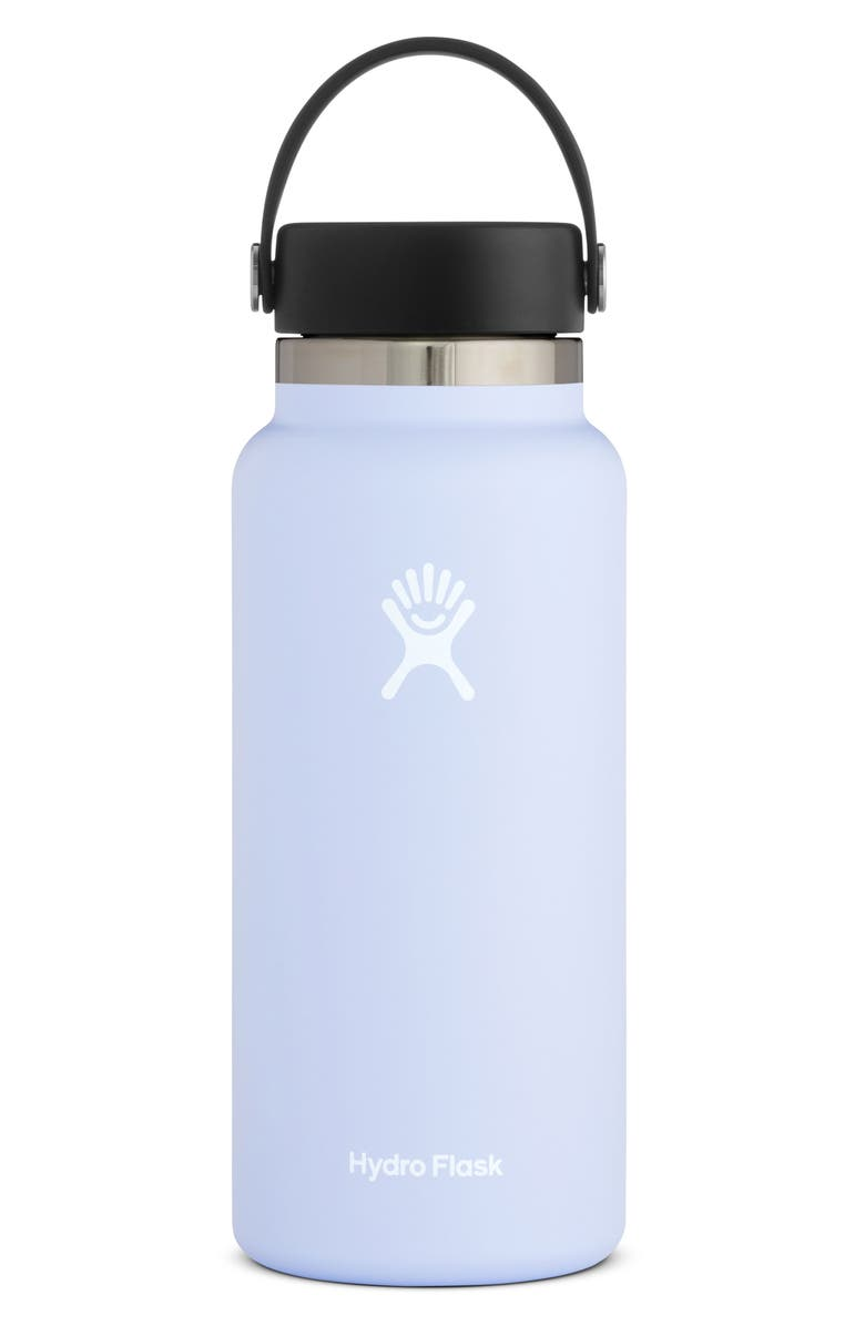 HYDRO FLASK 32-Ounce Wide Mouth Cap Bottle, Main, color, FOG