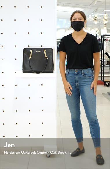 The Leather Tote, sales video thumbnail