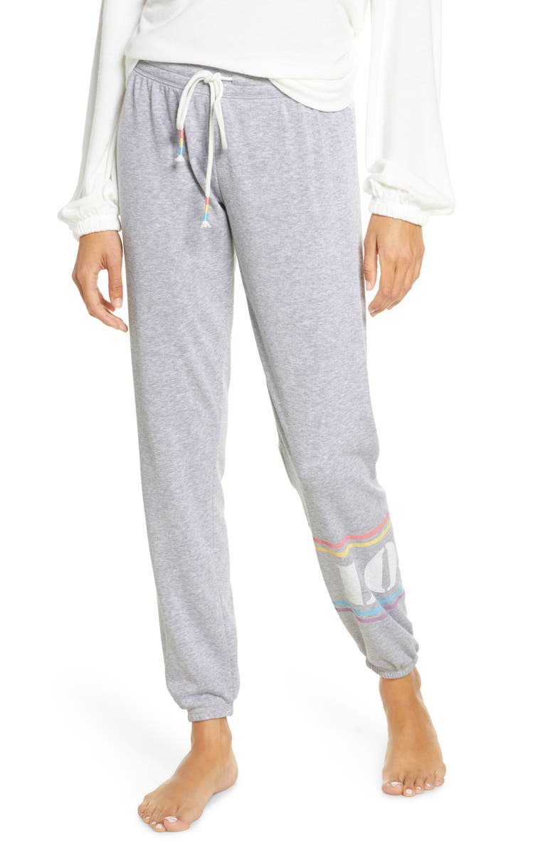 PJ SALVAGE Peached Joggers, Main, color, 020