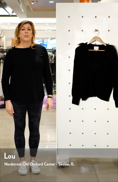Lizzie Wool Blend Pullover Sweater, sales video thumbnail