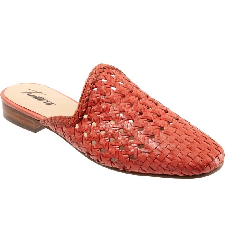 TROTTERS Leona Mule, Main, color, CORAL LEATHER