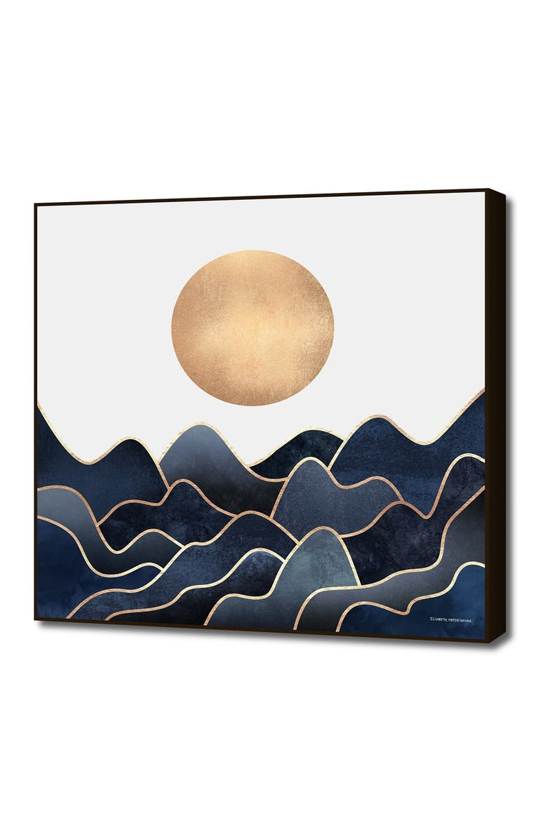 CURIOOS Small Waves 1 By Elisabeth Fredriksson, Main, color, BLUE