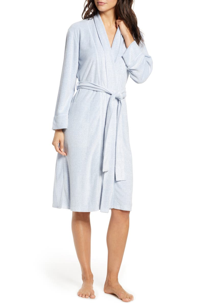 NATORI Sierra Brushed Terry Robe, Main, color, HT IMPERIAL BLUE