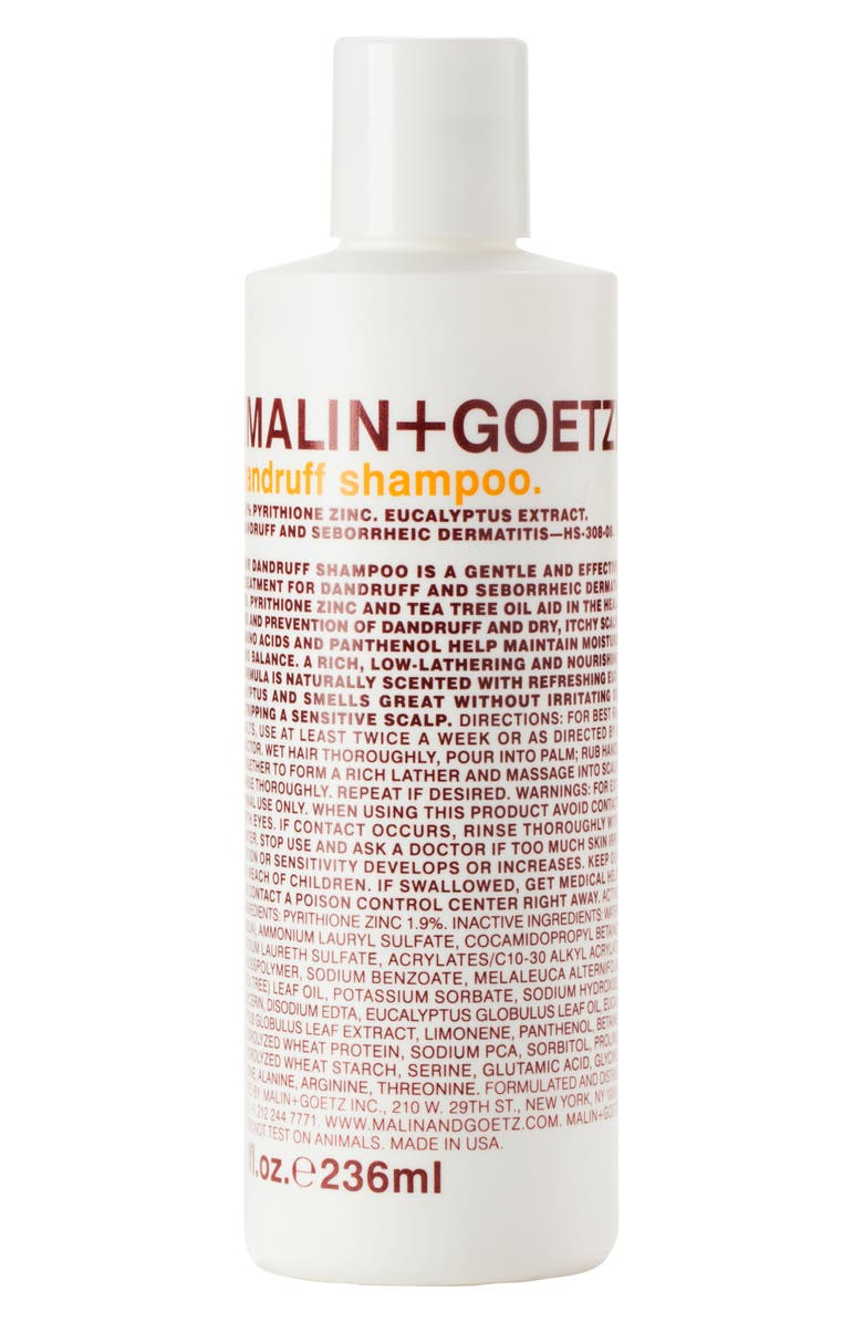 MALIN+GOETZ Dandruff Shampoo, Main, color, NO COLOR