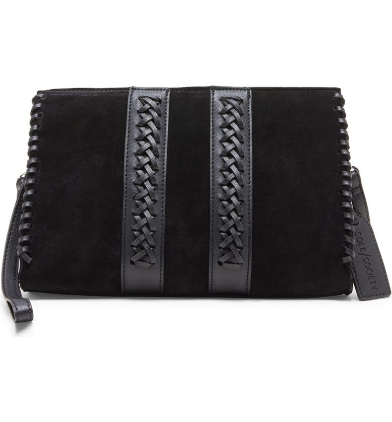SOLE SOCIETY Wahli Clutch, Main, color, 001