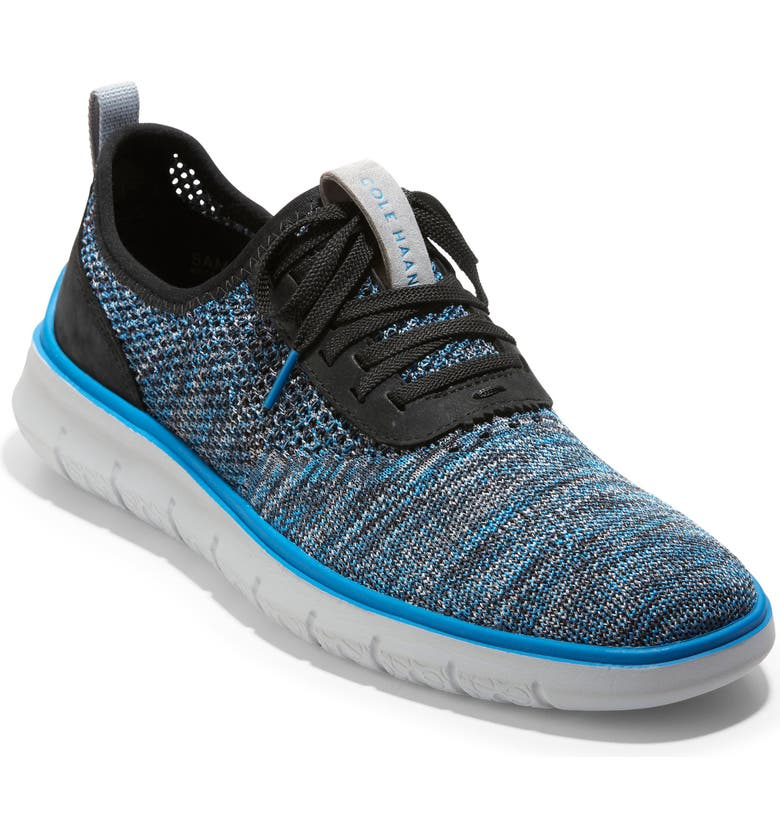 COLE HAAN Generation ZeroGrand Stitchlite Sneaker, Main, color, BLACK/ OMBRE BLUE