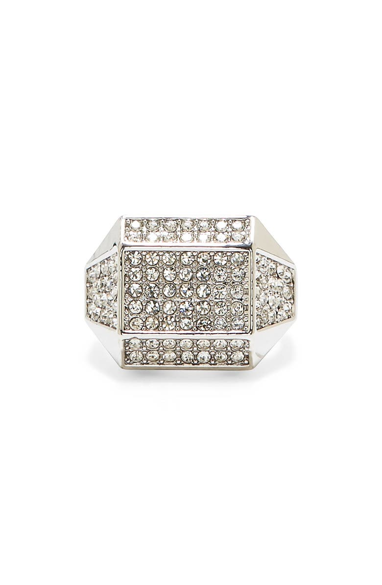 VINCE CAMUTO Geometric Pavé Ring, Main, color, 041