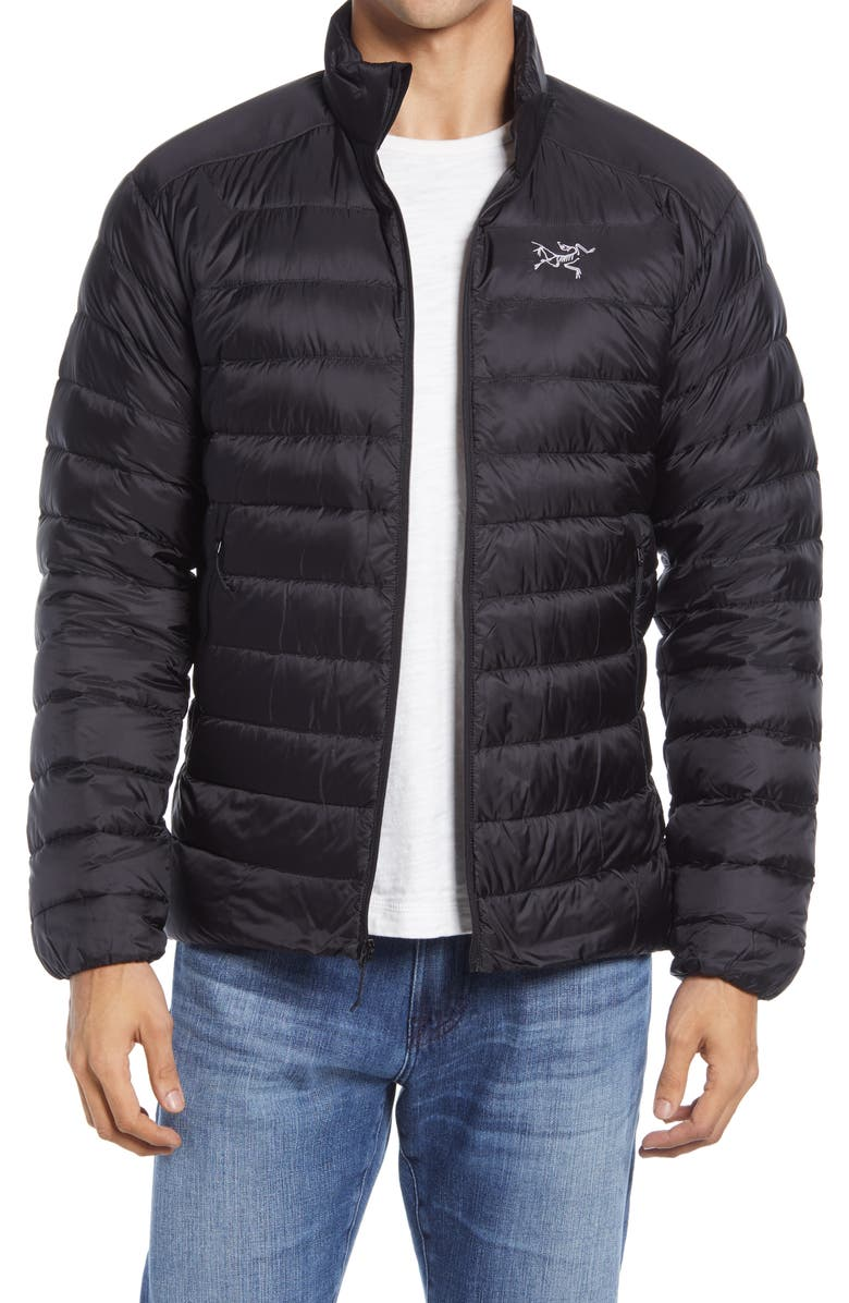 ARC'TERYX Cerium Quilted 850-Fill-Power Down Jacket, Main, color, 001