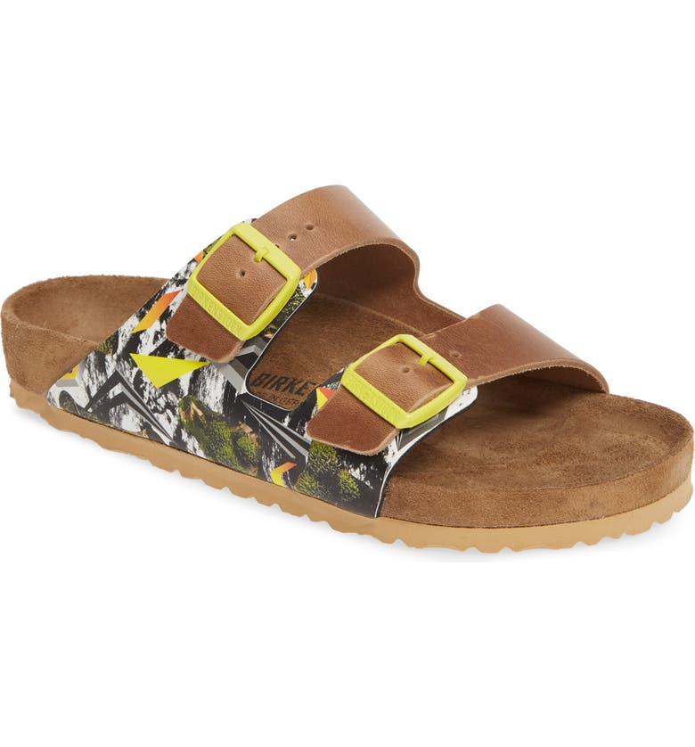 BIRKENSTOCK Arizona Camo Evolution Slide Sandal, Main, color, 700
