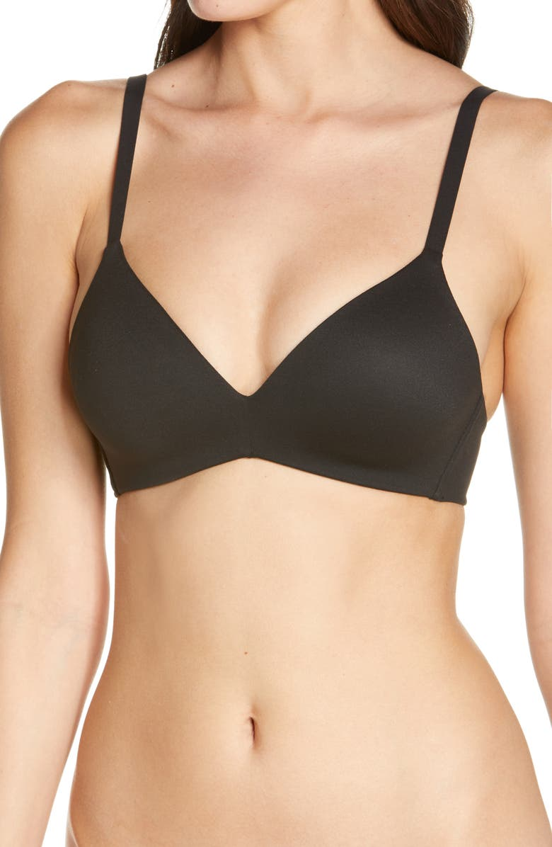 WACOAL How Perfect No-Wire Contour Bra, Main, color, 001